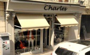 Boutique de Charles à Tours, 28 rue de la scellerie le pret a porter Homme